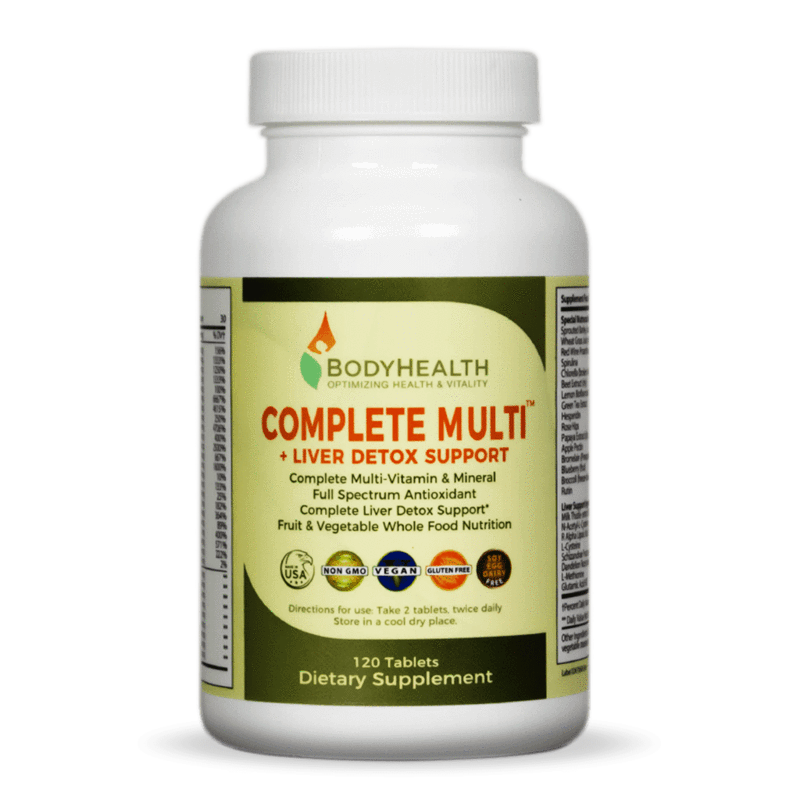 Body Health - Complete Multi - Traveling Tennis Pros
