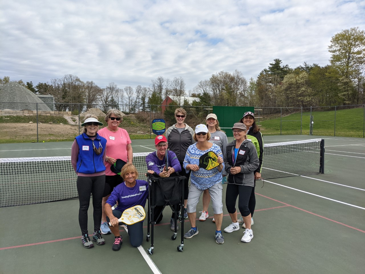 Traveling Pickleball Pros in Stratham, New Hampshire!